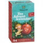 Tee Adventskalender 2019 - 24 ausgefallene Teesorten - Bio