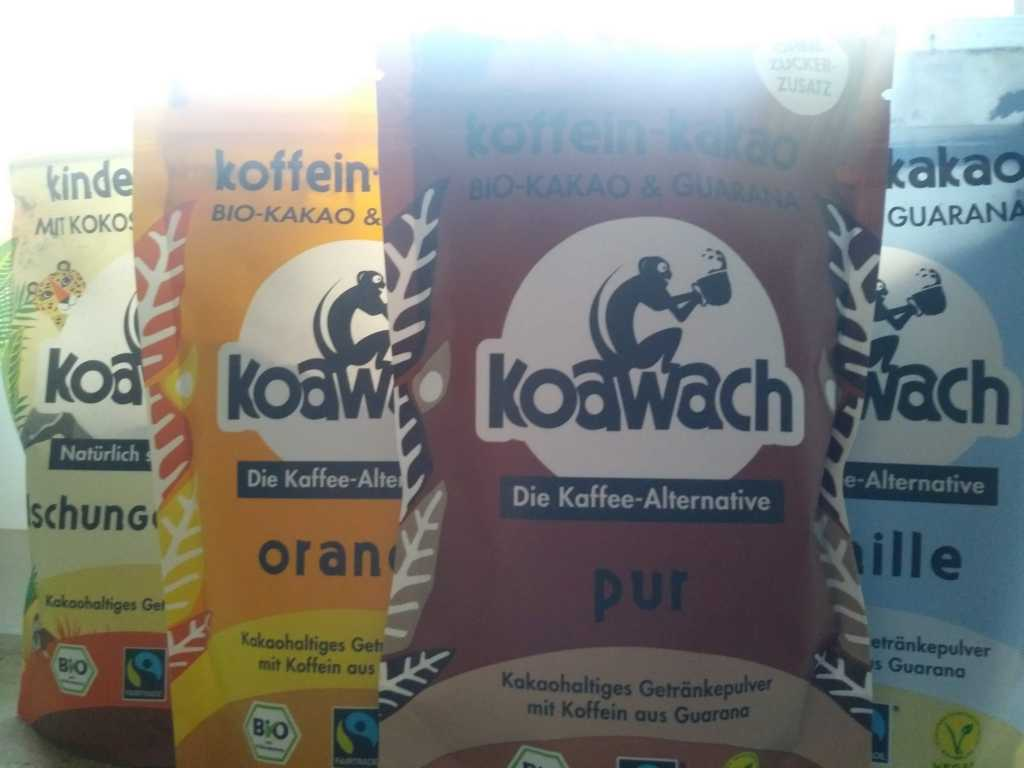 Koawach Gutschein   20% Rabatt auf die Kaffee-Alternative
