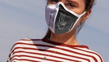 nachhaltige Community Maske