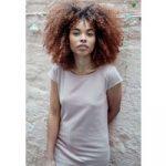 ThokkThokk Damen T-Shirt Altrosa Bio Fair